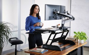 Stand and deliver: How a Varidesk can boost health – and work output News image